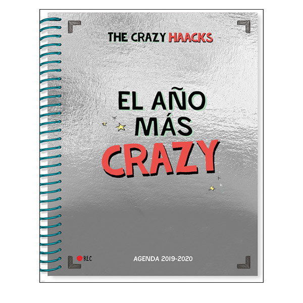 AGENDA ESCOLAR CRAZA HAACKS 19-20