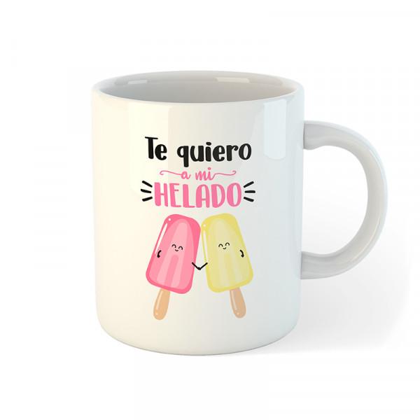 taza te quiero a mi helado