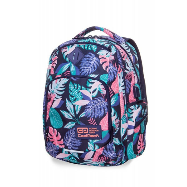 MOCHILA ESCOLAR TROPICAL
