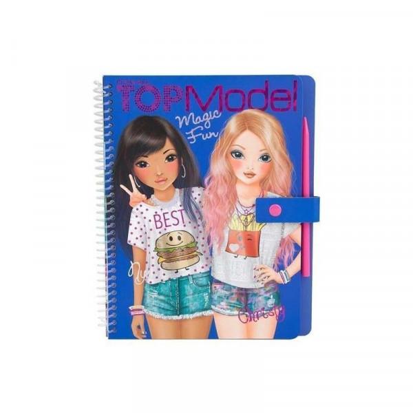 magic fun cuaderno para colorear topmodel